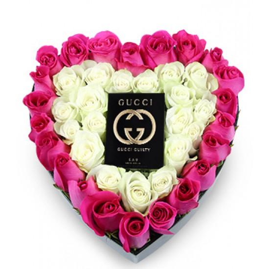 Ramo de corazones Gucci